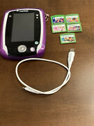 Leap Frog Leap Pad 2 Explorer, Case, 5 Game Cartridges, And Usb Cable
