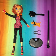 Monster High Doll And Pet----toralei 1st Wave And Sweet Fangs 198