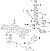 Genuine Acura 39780-szn-a01 | Unit Active Damper Part N/a On Picture