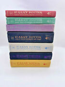 Harry Potter Hardcover Set First Edition 1-7 J.k. Rowling
