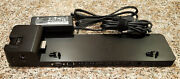 Used Hp Ultraslim Docking Station 2013 D9y32aaaba W/ Optional Ac Power Adapter