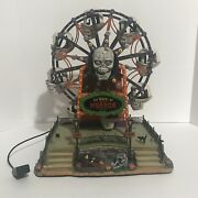 Lemax Spooky Town The Wheel Of Horror Retired 2010 Fully Functional See Video