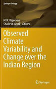 Observed Climate Variability And Change Over The Indian Region Hardcover Book
