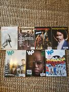 Wax Poetics Lot Of 7. All Original Issues No Re-issue.
