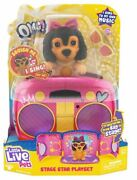 Omg Pets Little Live Petsstage Star Playset New In Package.