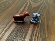 Red Rose Tea Wade Whimsies Of England Figurine Blue Cat Kittens And Dog