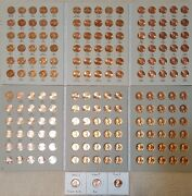 1959-2021 Lincoln Memorial Cent Collection P D S + Bu Wheat Penny And Proof