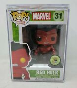 Metallic Red Hulk Funko Pop - 2013 Sdcc Exclusive - Limited To 480 Marvel