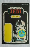 Vintage Authentic Star Wars Revenge Of The Empire At-at Driver Proof Card Esb