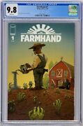 Farmhand 1 Image 2018 Cgc 9.8 White Pages Rob Guillory Top Census Grade
