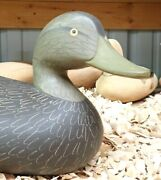 Black Duck Decoy By Charlie Bryan Middle River Maryland