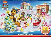 Paw Patrol 6059302 - 2019 Advent Calendar With 24 Exclusive Collectible Pieces