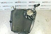 Honda Cbr 1000 Rr Fireblade 07 Radiator With Fan And Cap - Dent But No Leaks