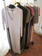 Lot Of 13 Jersey Knit Dresses Mixed Colors Sizes Brands New Without Tags