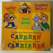 Careers Board Game Parker Brothers 2003 New Sealed Fortune Happiness Fame