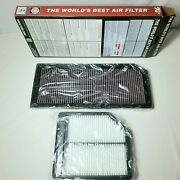 Kandn 33-2888 Volkswagen High Flow Reusable Air Filter And Cabin Filter Combo