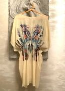 One World Y2k Style Beaded Womenandrsquos Dress Size L Pre-owned