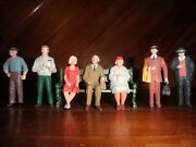 G 122 Scale Train People Figures Bench Lot Preiser Lemax Sitting And Standing