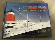 S.s. United States Fastest Ship In World By Frank Osborn Braynard Hb Dust Cover