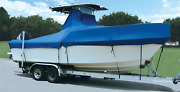 T Top Boat Cover Taylormade In Usa Length 23and0395-24and0395 Without Bow Rails 266