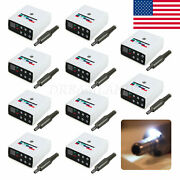 10x Dental Led Brushless Electric Micro Motor Fit 11/161/15 Contra Angle