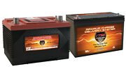 Xca27 And 1 Mr127 Agm 1k Mca For Marine Gas Engine And 100ah Deep Cycle Aux Battery