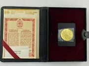 1977 Canadian 100 Gold Coin Queens Silver Jubilee