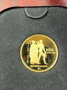 1976 Canadian 100 Montreal Olympic Gold Coin