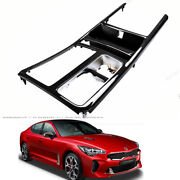 Genuine Parts Real Carbon Console, Cup Holder Kits For Kia Stinger 20172020+
