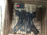 Lionel 027 Gauge, Lot Of 45 Pcs Of Track Sections,4 Switches,2 Crossing