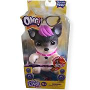 Little Live Pets Omg So Soft Squishy Purple Hair Pup Singing Musical New Htf