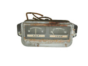 Jeep Oem Willys Jeepster 50-64 Amp Ammeter Temp Temperature Gauge Free Shipping