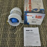Rule In-line Bilge Blower For 3 Ducting 30480-0000 Rul-140