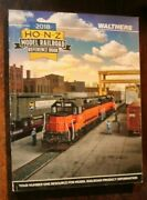 Walthers 2018 Ho-n-z Model Railroad Reference Book