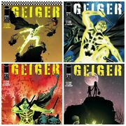 Geiger 2 A B C D Variant Set Options Image Comics Nm