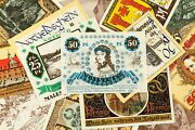 1920and039s Germany Notgeld Emergency Money 25pc - Burg A.d. Wupper Celle Malchin