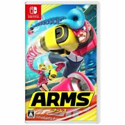 Arms Nintendo Switch Games Japanese/english/french/germany/other