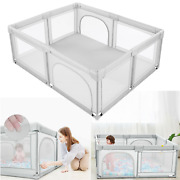 Baby Safety Play Yard Kids Activity Center Foldable Large Playpen Playing Fence