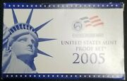2005 U.s. Mint Proof Set Great Gift For Young Collectors