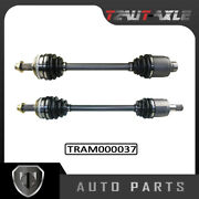 Front Left Axle Cv Axle Drive Shaft Assembly Set For Acura Honda Pilot 2003-2008