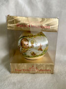 Rare Hallmark 1976 Babyand039s First Christmas Ball Ornament New Very 1st Ever Issued