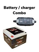 Limitless Nano -hd Motorcycle / Power Sports Battery W/ Charger