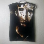 Vintage Halloween 2 Michael Myers Horror Movie H2 T-shirt Rob Zombie S