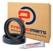 Fork Oil Seals For Yamaha Yz 80 17/14 Inch Wheels 86-89