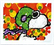 Tom Everhart Synchroniser My Boogie-afternoon Peanuts Snoopy Main Signandeacutee