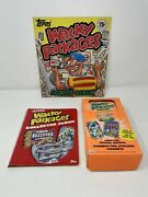 Vintage Topps 1970's / 2005 Wacky Packages Cards, Collector Album And Sticker Book