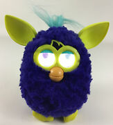 Furby Boom Interactive Toy Pet Hasbro 2012 Dark Blue With Batteries Tested