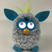 Furby Boom Interactive Toy Pet Hasbro 2012 Grey Blue With Batteries Tested