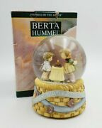 Berta Hummel Wishes Come True - Happy Birthday To You - Musical Water Ball