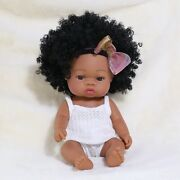 35cm Bebe Reborn Baby Doll Toys For Girls Full Body Silicone Dolls Play House
